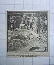 1917 Drains Traps To Collect Kitchen Waste Water Save Fat For Munitions