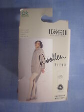 Wolford Style 113 01 Woolen Blend Tights Size Xtra Small in Brown