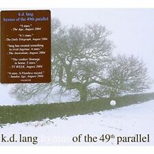 K.D. LANG Hymns Of The 49th Parallel CD BRAND NEW Slipcase
