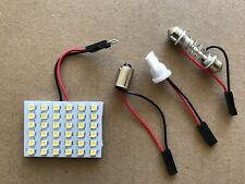 New 1 Sets White Light 36SMD 5050 LED 12V Panel Car Interior Dome Lamp Light.