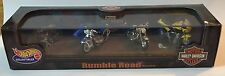 Hot wheels coffret harley davidson rumble road