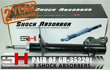 2 NEW REAR  SHOCK ABSORBERS FOR NISSAN X-TRAIL (T30) / GH-352291H /