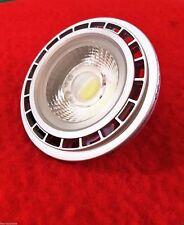 LED AR111 G53 Projecteur spot blanc chaud 15W comme 80W 38° 12V AC Argent