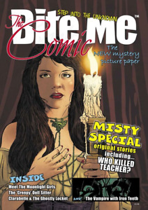 Bite me magazine COMIC  MISTY comic itribute with original Misty stories