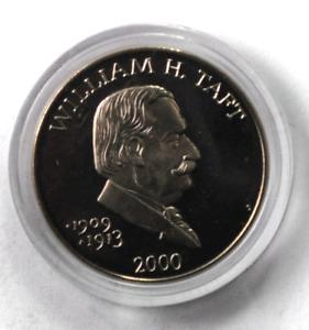 2000 S Liberia $5 Five Dollars Copper Nickel Coin Gem Unc William H Taft