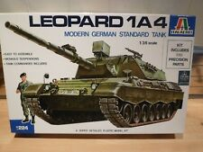Italeri 1/35 Leopard 1A4 Modern German Standard Tank, model kit.