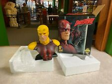 2007 Sideshow Legendary Scale Bust Daredevil Yellow Exclusive #072 with Box