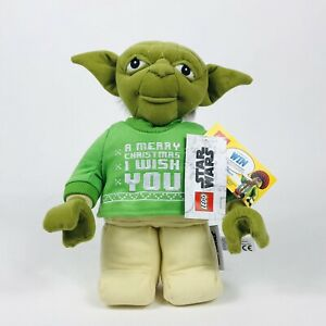 LEGO Star Wars Yoda Holiday Plush New With Tags