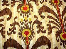 Ikat Java Moon Porcini Waverly Iman Fabric
