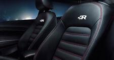 6x R-line VW Racing Aufkleber Emblem für Sitze Touareg Golf GTI Jetta Passat