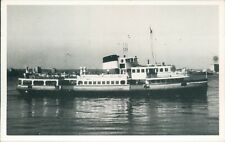 Postcard shipping Mersey ferry Woodchurch Friends of the Ferries card