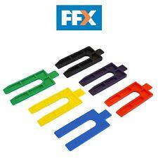 Faithfull WEDGE100 Plastica Imballaggio Cunei Confezione Di 100