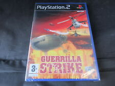 Sony Playstation 2 PS2 Game Guerrilla Strike Brand New Factory Sealed Slight Dam