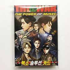 SM Town EXO THE WAR Repackage The Power Of Music Official Solution Card