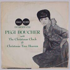 PEGI BOUCHER: The Christmas Clock US Hiback Pop Vocal w/ PS 45