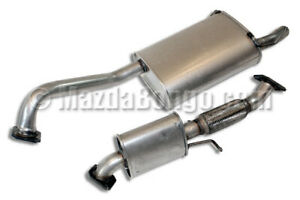 Mazda Bongo Exhaust Centre & Back Box -  2.5 Litre V6 Petrol - 1995 onwards