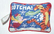 Classic Winnie The Pooh Piglet Tigger Christmas Snow Fun Throw Pillow Decorative
