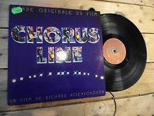 CHORUS LINE BOF LP 33T VINYLE EX COVER EX ORIGINAL 1985
