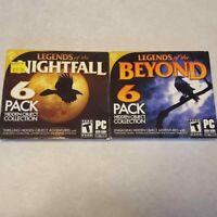 Legends Of The Beyond Nightfall 2 PC DVD-ROM 6 Packs 12 Hidden Object Games 2015