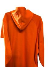 Mossy Oak 3XL Orange Hoodie With Face Gaiter Zippered Pocket Scent Control NWT