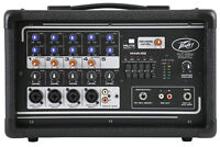 Peavey PV5300 5-Ch. Powered Soundboard Mixing Console Mixer For Church/School
