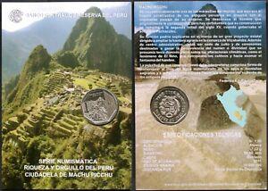 PERU 1 SOL COIN BLISTER (2011)* CIUDADELA DE MACHU PICCHU* USA SELLER