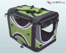 Faltbare Hunde Transportbox Auto Hundebox Box Größe XXL 4-farbig Grün Hund