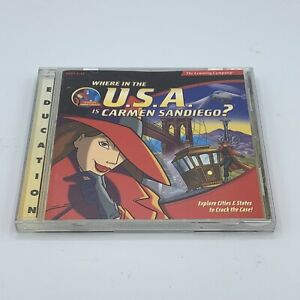 Where in the USA is Carmen San Diego? Windows / Mac CD-ROM Game