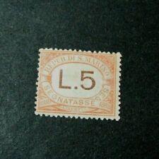 San Marino Stamp Scott#  J31  Postage Due  1925-39  MH L310