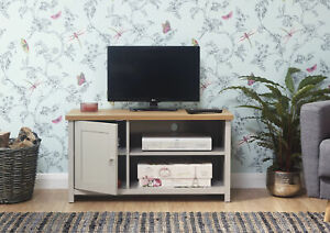 New Ex Display Small Lancaster Grey TV Unit  LOCAL DELIVERY