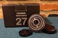 New listing Fujifilm Fujinon Xf27 mm f/2.8 Camera Lens - Black
