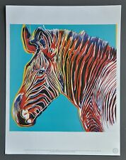 Andy Warhol Foundation Ltd. Edition Offset Lithograph 31x40cm Grevy's Zebra 1983