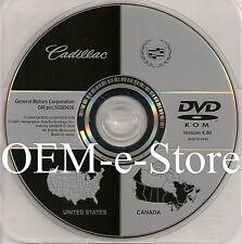 2004 2005 2006 2007 Cadillac XLR XLR-V GPS Navigation DVD Map V.4.00 U.S Canada
