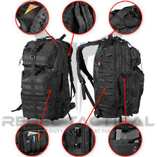 """Rebel Tactical Assault Backpack 26"""" 3 Day Military Molle Hunting Airsoft Bag"""