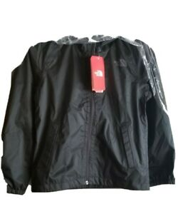 The North Face Boy's Zipline Rain Jacket, TNF Black, Size S