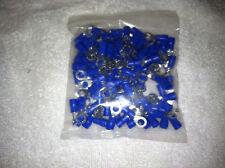 Blue Electric Ring Terminal RVS2-5, 100 pcs per bag, made of copper FREE SHIP!