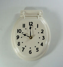 Johnny Clock Toilet Seat Wall Clock Made to Order Vintage Retro