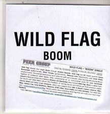 (DB821) Wild Flag, Boom - 2011 DJ CD