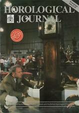 Horological Journal 134/12  Swatch Swiss watch. Care of clocks & watches.    z11