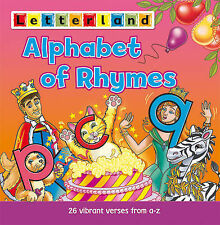 Letterland An Alphabet of Rhymes by Linda Jones New Book 186209246X