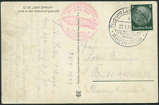 Zeppelin Flight RP Postcard - Germany 23.7.39   S1866