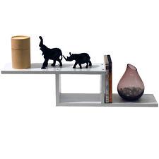 ZIGZAG - Wall Mounted Storage / Display Shelf - White STZIGW