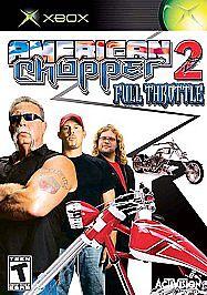 American Chopper 2: Full Throttle (Microsoft Xbox, 2005)