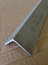 STAINLESS STEEL ANGLE 25mm X 25mm X 3mm X 300mm LONG