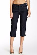 NWT Not Your Daughter's Jeans NYDJ Ariel Crop in Dark Enzyme Stretch Capri 2