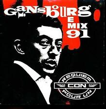 SERGE GAINSBOURG 45 TOURS FRANCE REQUIEM POUR UN CON+