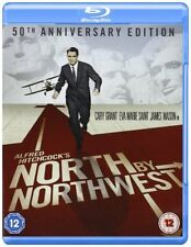 North By Northwest (Cary Grant 50th Anniversary Edition) Blu-ray Region B New