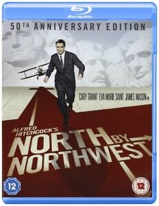 North By Northwest (Cary Grant 50th Anniversary Edition) Blu-ray Region B New