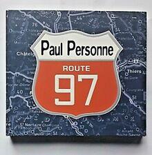 PAUL PERSONNE : Route 97 - Live 2 CD Digipack Edition Limitée