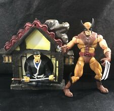 Marvel Legneds Series 6 Wolverine Brown Suit With Base Loose Complete